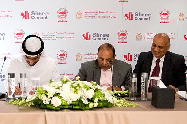 Going international with first overseas acquisition of Union Cement Company, Ras Al Khaimah, United Arab Emirates