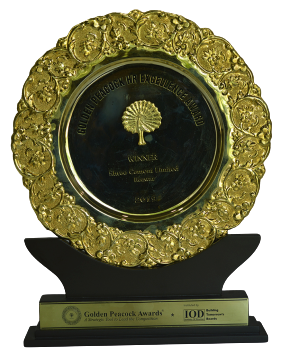 Golden Peacock Award for HR Excellence 2019