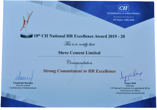 CII Strong Commitment to HR Excellence 2019