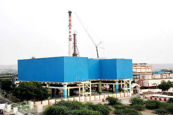 First Waste Heat Recovery Power Plant at Beawar, Rajasthan