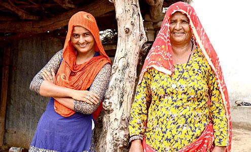 Enabling women for happier families