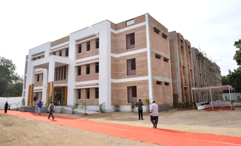 Girl's hostel in MBM Engineering College, Jodhpur, Rajasthan